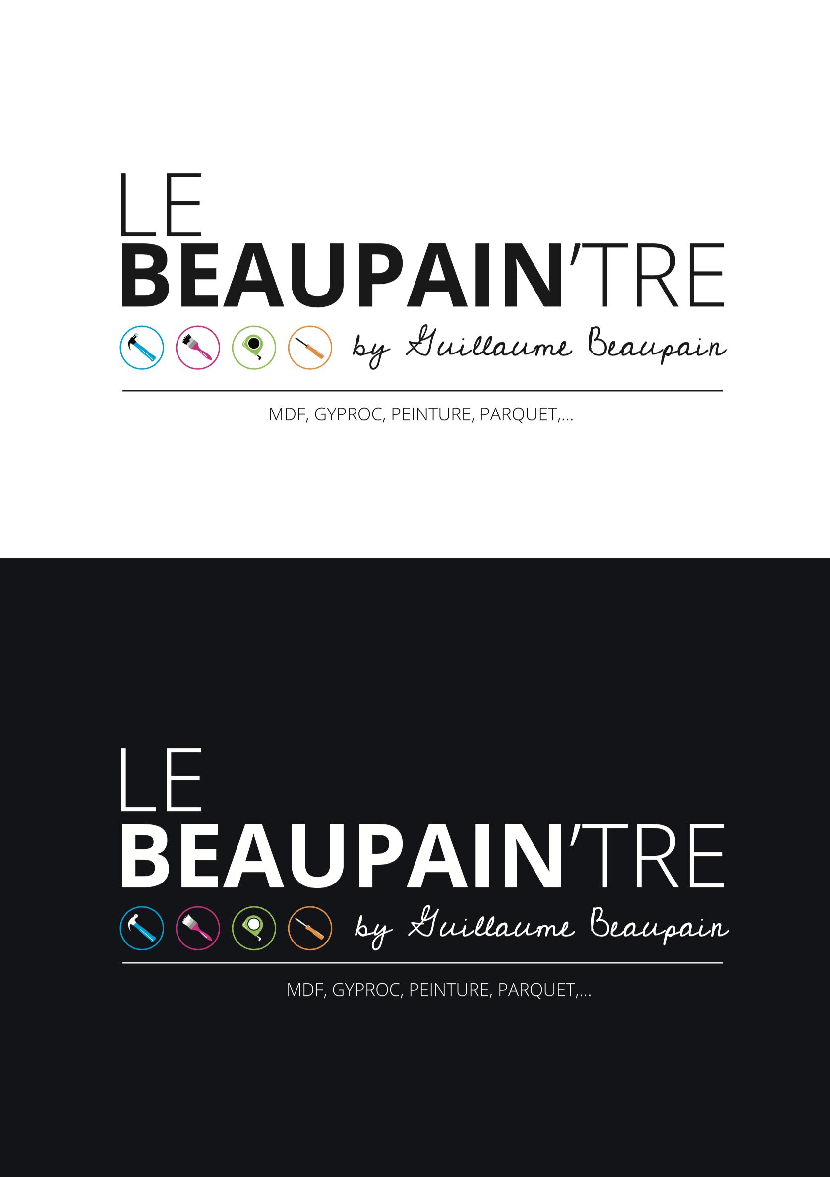 Création de l'identité visuelle le Beaupain'tre